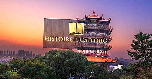 Qual é a capital da província de Hubei?