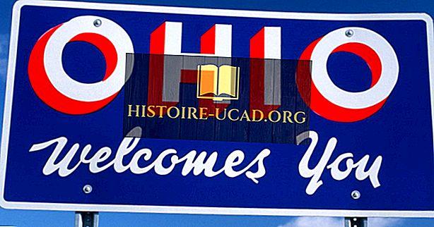 अमेरिकी राज्य ओहियो की स्थापना कब हुई थी?