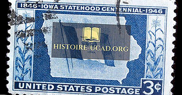 Kada buvo įkurta JAV valstybinė Ajova?