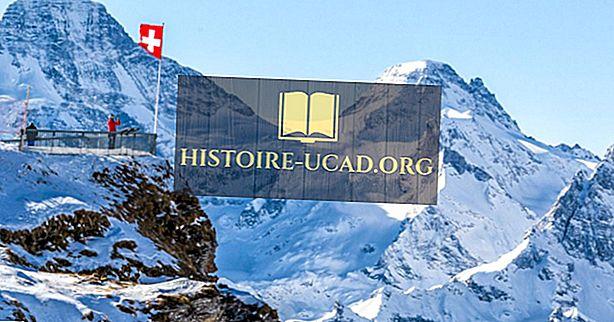 Où sont les Alpes suisses?
