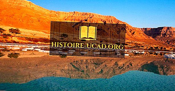 Este Marea Moartă un lac sau o mare?