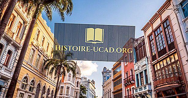 Recife - Pernambuco sostinė, Brazilija