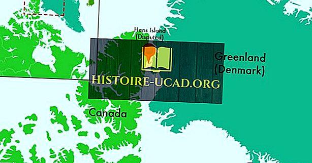 Hans Island - Eigendom van Canada of Denemarken?