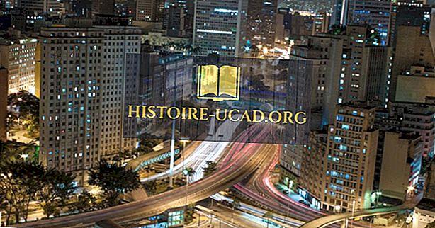 São Paulo - Hlavní město Brazílie São Paulo
