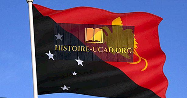 Que signifient les couleurs et les symboles du drapeau de la Papouasie-Nouvelle-Guinée?