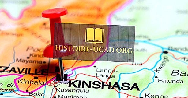 Qual é a capital da República Democrática do Congo?