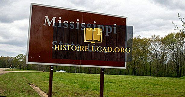 La ce frontieră Mississippi?