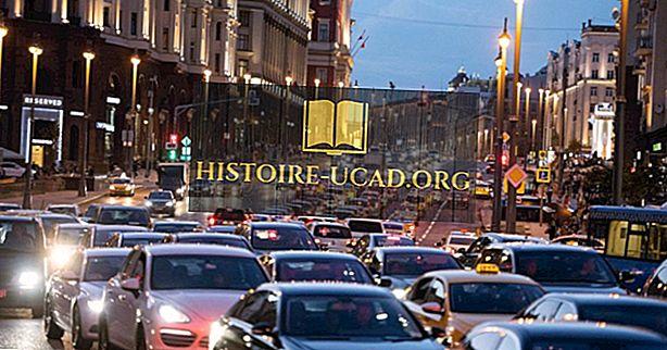 مدن العاصمة الأوروبية مع أسوأ ازدحام حركة المرور