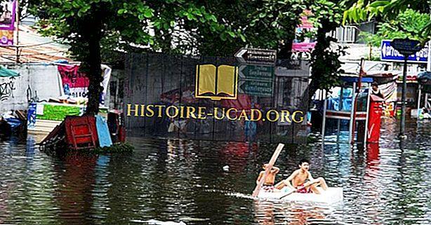 Visvairāk reģistrētie plūdi kopš 1900. gada