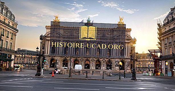 A világ építészeti épületei: Palais Garnier