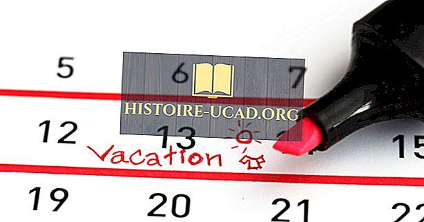 Страни с най-много ваканционни дни