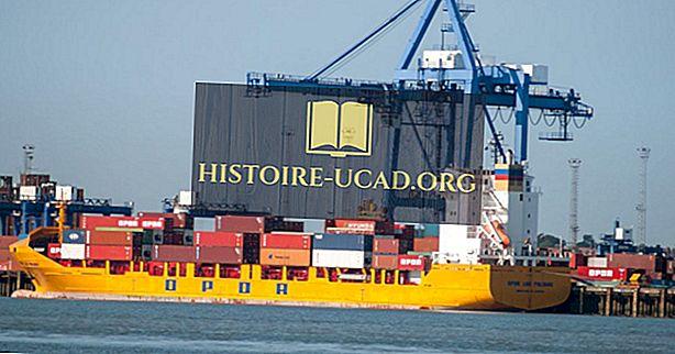 Cele mai aglomerate porturi de marfă din Regatul Unit