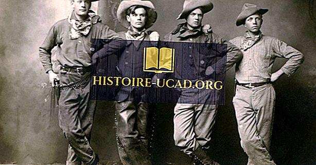 Kratka zgodovina kavbojskih klobukov