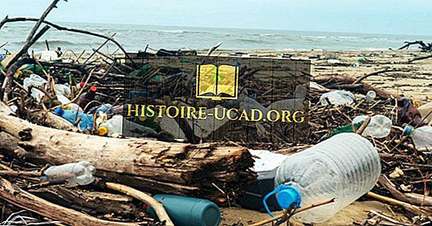 Países que depositan la mayor cantidad de residuos plásticos en los océanos
