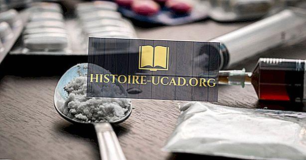Les drogues les plus addictives au monde