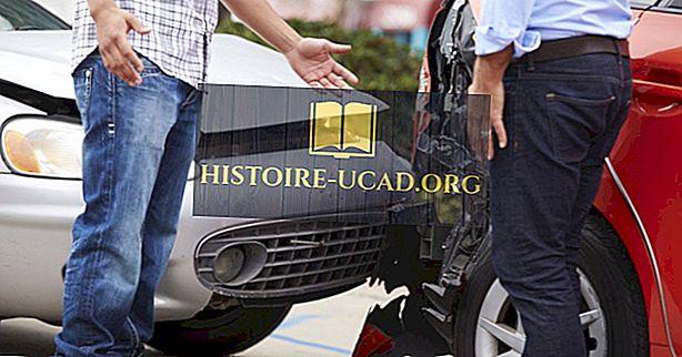 svetovnih dejstev - Države z največ avtomobilskimi nesrečami