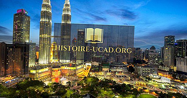 Top Source Země turistů do Malajsie