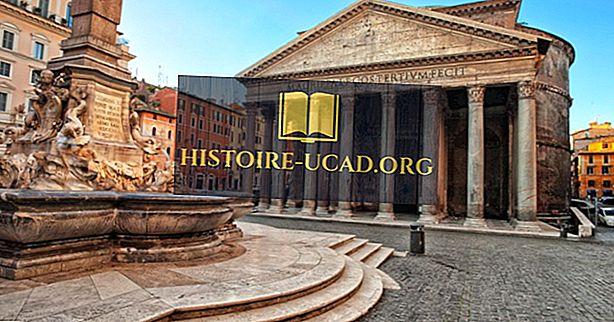 Architektonische Gebäude der Welt: das Pantheon