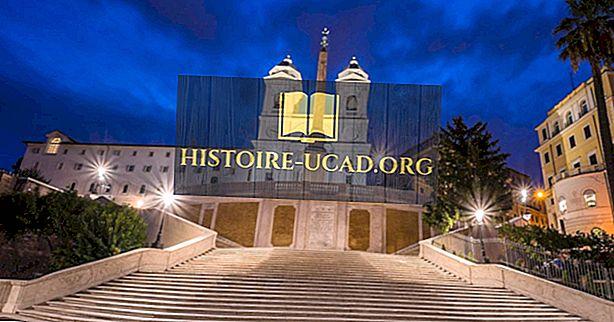 المباني المعمارية في العالم: Trinita dei Monti