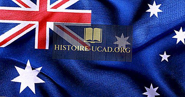 Kaj pomenijo barve in simboli avstralske zastave?