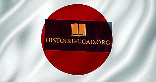 Hvad betyder farverne og symbolerne på Japans nationale flag?