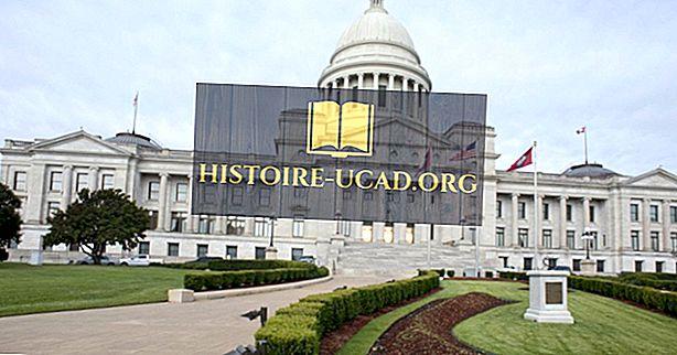 Co je hlavním městem Arkansasu?