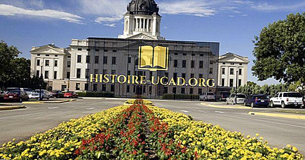 ما هي عاصمة ولاية ساوث داكوتا؟