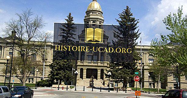 Qual è la capitale del Wyoming?