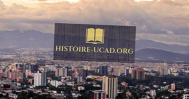 मध्य अमेरिका के प्रमुख शहर