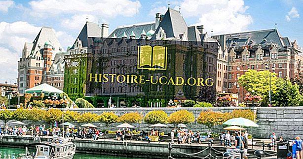 Što je glavni grad Britanske Kolumbije?