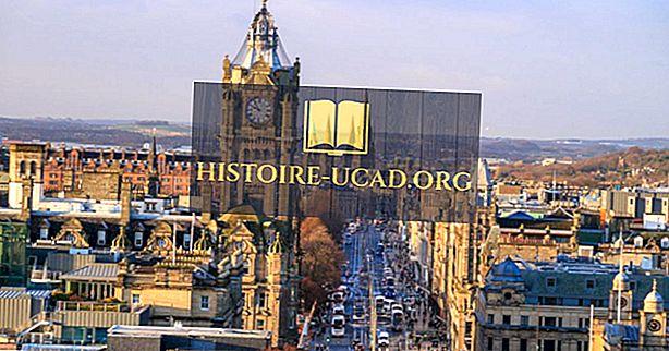 Kas yra Škotijos sostinė?