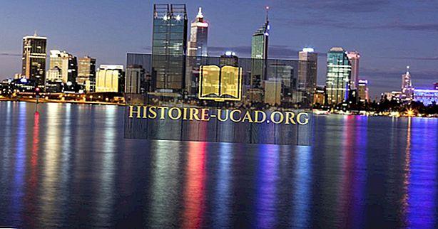 ما هي عاصمة أستراليا الغربية؟