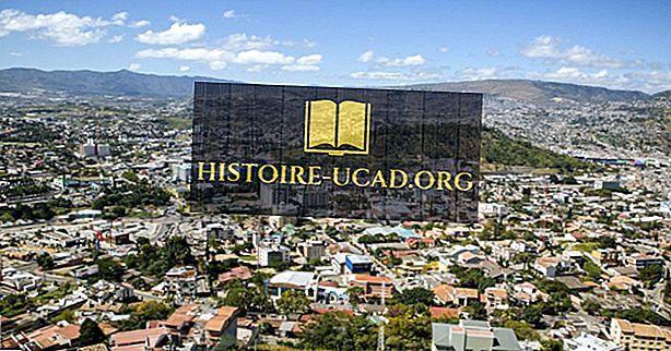 Quelle est la capitale du Honduras?