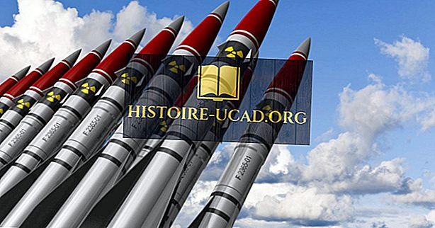 fakta dunia - Mana Negara Mempunyai Senjata Nuklear Paling?