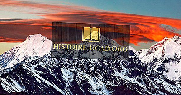 hechos mundiales - Las montañas más altas del mundo