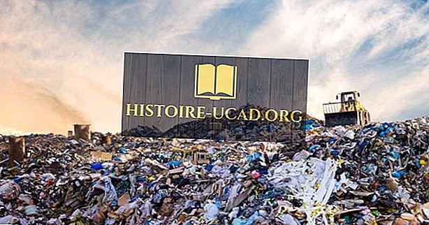 hechos mundiales - Países que producen más basura