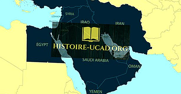 Quais são os países do Oriente Médio?