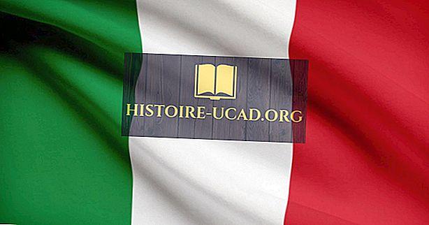 À quoi ressemble le drapeau italien?