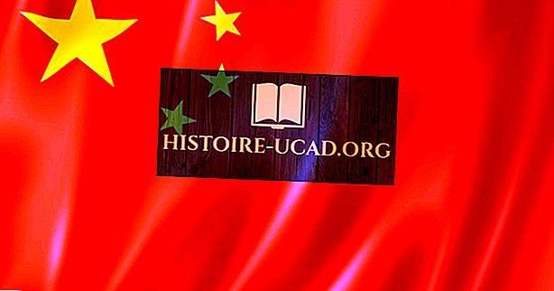Que signifient les couleurs et les symboles du drapeau national de la Chine?