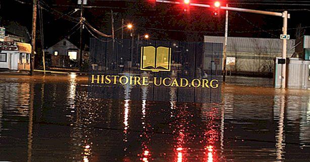 Najgorsze powodzie w historii USA
