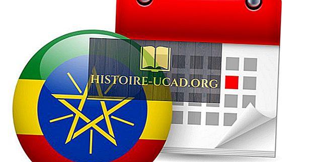 Le calendrier unique utilisé uniquement en Éthiopie