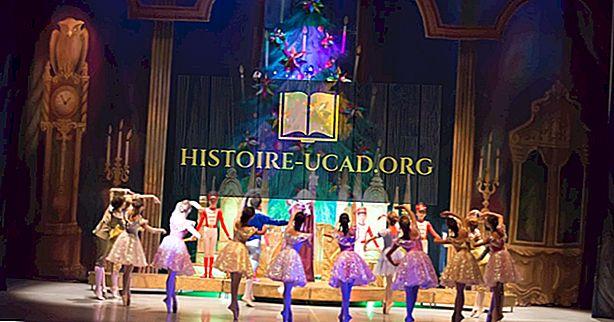No kurienes sākās riekstkoka balets?