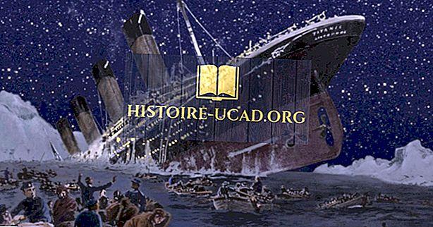 Hur många människor dödade på Titanic?