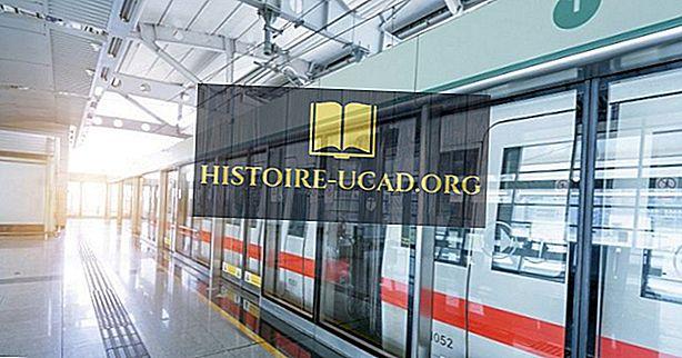 световни факти - Най-дългата железопътна система на метрото и метрото в света