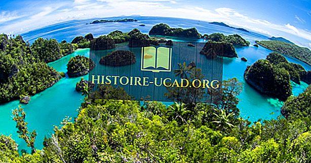 Combien y a-t-il d'îles en Indonésie?