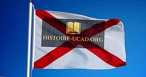 Държавен флаг на Алабама