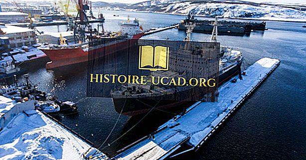 Къде е най-големият арктически порт в Русия?