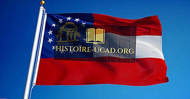 Flaga stanu Georgia