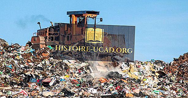 Največja odlagališča odpadkov, odlagališča odpadkov in smeti na svetu