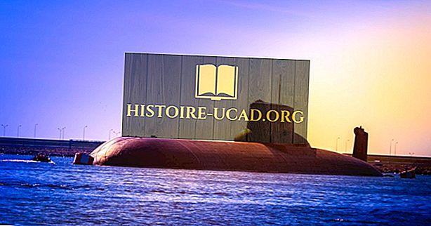 Países con submarinos nucleares
